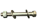 "3/8"" X 1""  CARRIAGE BOLT 18-8 SS"