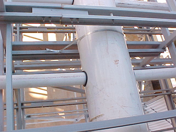 Typical pvc installation - FRP.